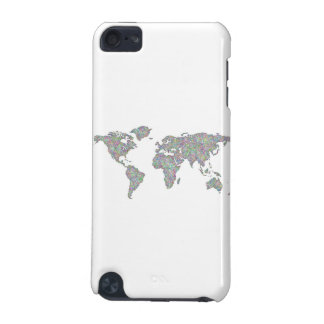 World map iPod touch 5G case