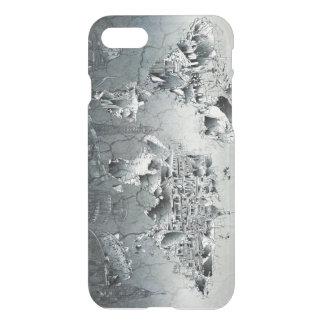 world map landmark collage iPhone 7 case