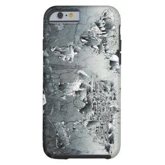 world map landmark collage tough iPhone 6 case