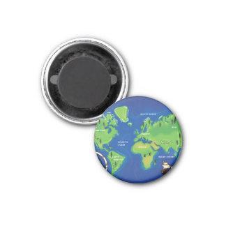 World Map Magnet