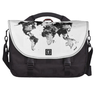 WORLD MAP - Moon Craters Laptop Bags