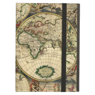 World Map of 1689 Gifts iPad Covers