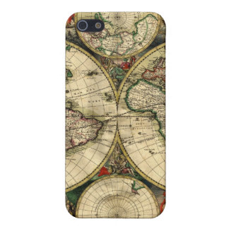 World Map of 1689 Gifts iPhone 5/5S Cover