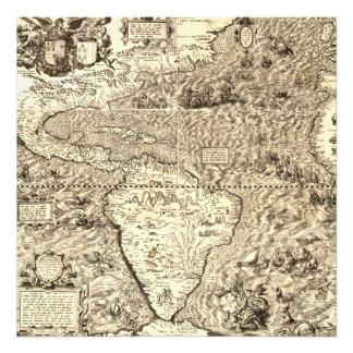 World Map of America by Diego Gutiérrez Photo Print
