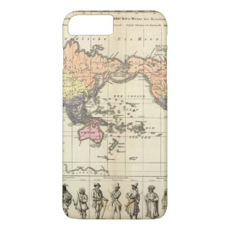 World Map of Clothing Styles iPhone 7 Plus Case