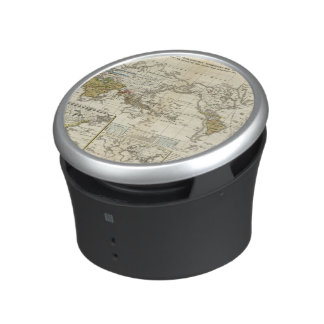 World Map of Diseases Bluetooth Speaker