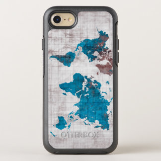 world map OtterBox symmetry iPhone 8/7 case
