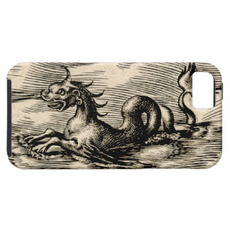 World Map Sea Serpent iPhone 5 Covers