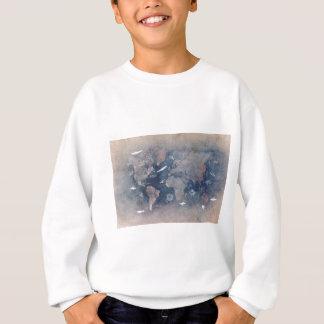 world map sealife sweatshirt
