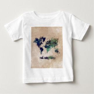 world map splash baby T-Shirt