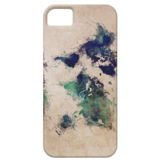 world map splash case for the iPhone 5