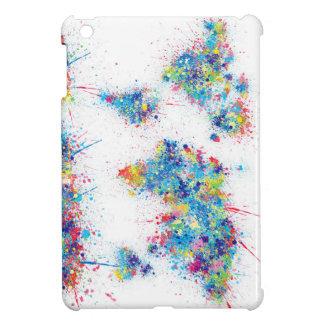 world map watercolor 17 iPad mini covers