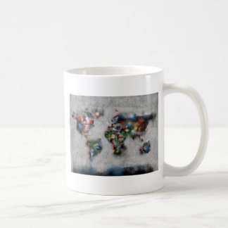 world map watercolor 33 coffee mug