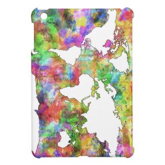 world map watercolor  5 case for the iPad mini