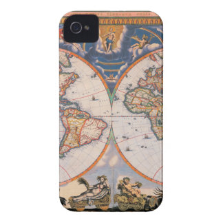 World Map - Weltkarte iPhone 4 Case-Mate Case