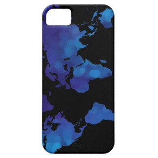 world maps ~ blue color iPhone 5 cover