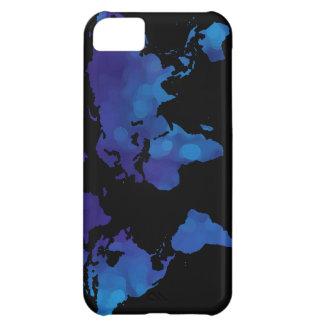 world maps ~ blue color iPhone 5C case