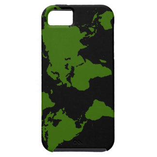 world maps ~ customizable color iPhone 5 covers