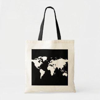 world maps ~ customizable color bag