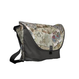 World Maps Courier Bags