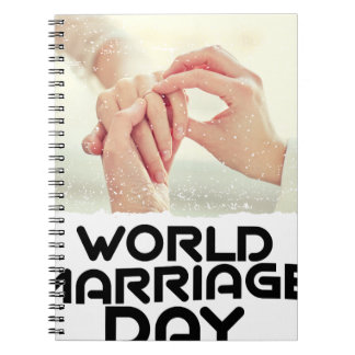 World Marriage Day - Appreciation Day Notebook