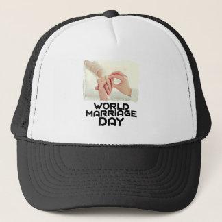 World Marriage Day - Appreciation Day Trucker Hat