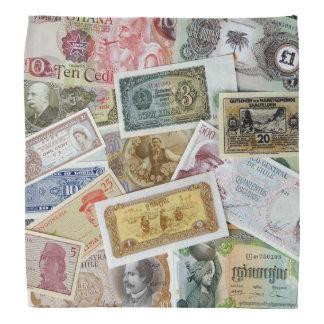 WORLD MONEY BANDANA
