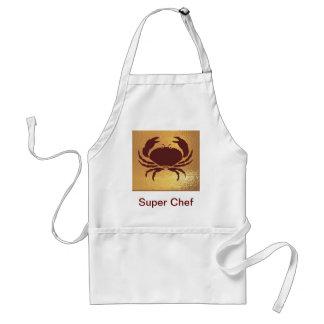 World of children - frogs, crabs, animal fam standard apron