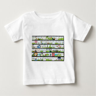 World of Cow Wallpaper Baby T-Shirt