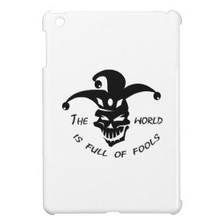WORLD OF FOOLS iPad MINI COVER