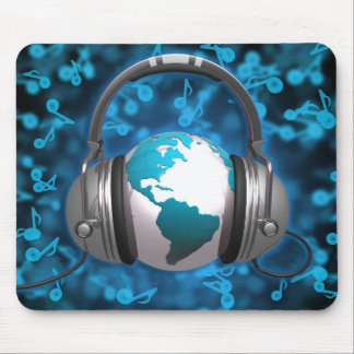World Of Music Mouse Pad