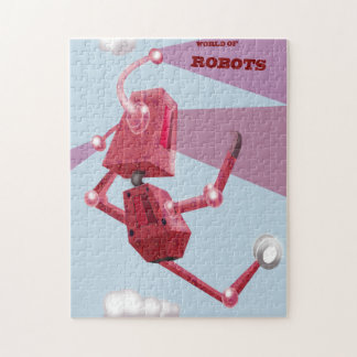 world of robots jigsaw puzzle