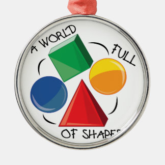 World Of Shapes Christmas Ornaments