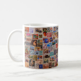 World of Stamps -- Coffee Mug