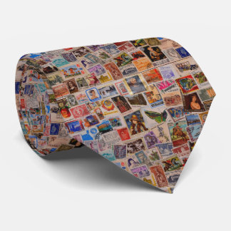 World of stamps - Men's Tie