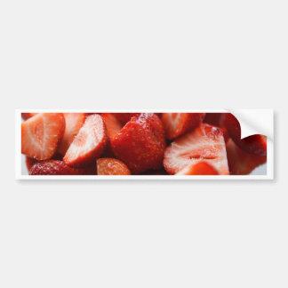 World OF Strawberries Bumper Sticker