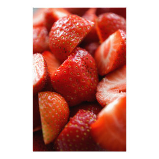 World OF Strawberries Personalised Stationery