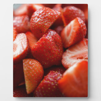 World OF Strawberries Plaque