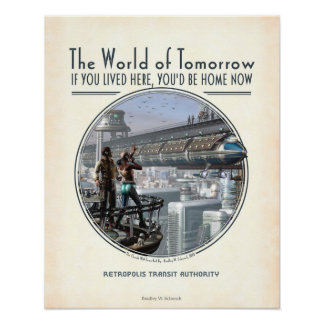 """World of Tomorrow poster (16x20"""")"""