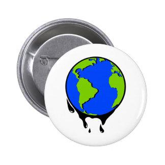 World Oil Biofuel Pinback Buttons