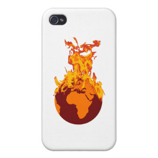 World on Fire iPhone 4/4S Cases