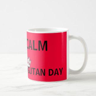 World Orangutan Day Keep Calm Mugs