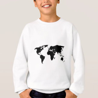 World Outline Sweatshirt