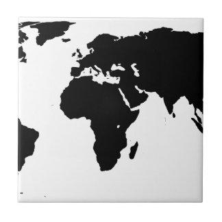 World Outline Tile