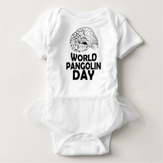 World Pangolin Day - 18th February Baby Bodysuit