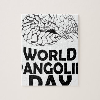 World Pangolin Day - 18th February Jigsaw Puzzle
