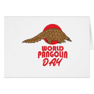World Pangolin Day - Appreciation Day Card