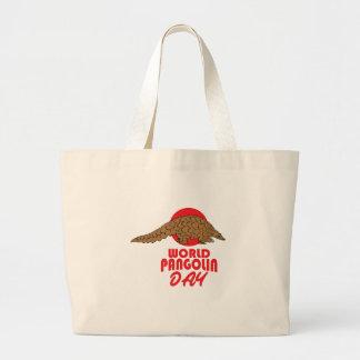 World Pangolin Day - Appreciation Day Large Tote Bag