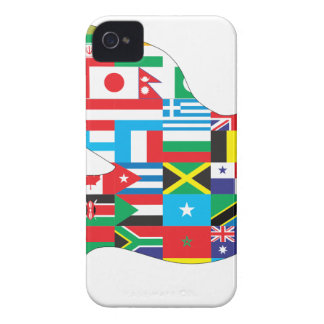 World Peace Bird iPhone 4 Cases
