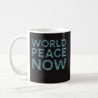 World Peace Coffee Mug Funny Gift for Pacifists
